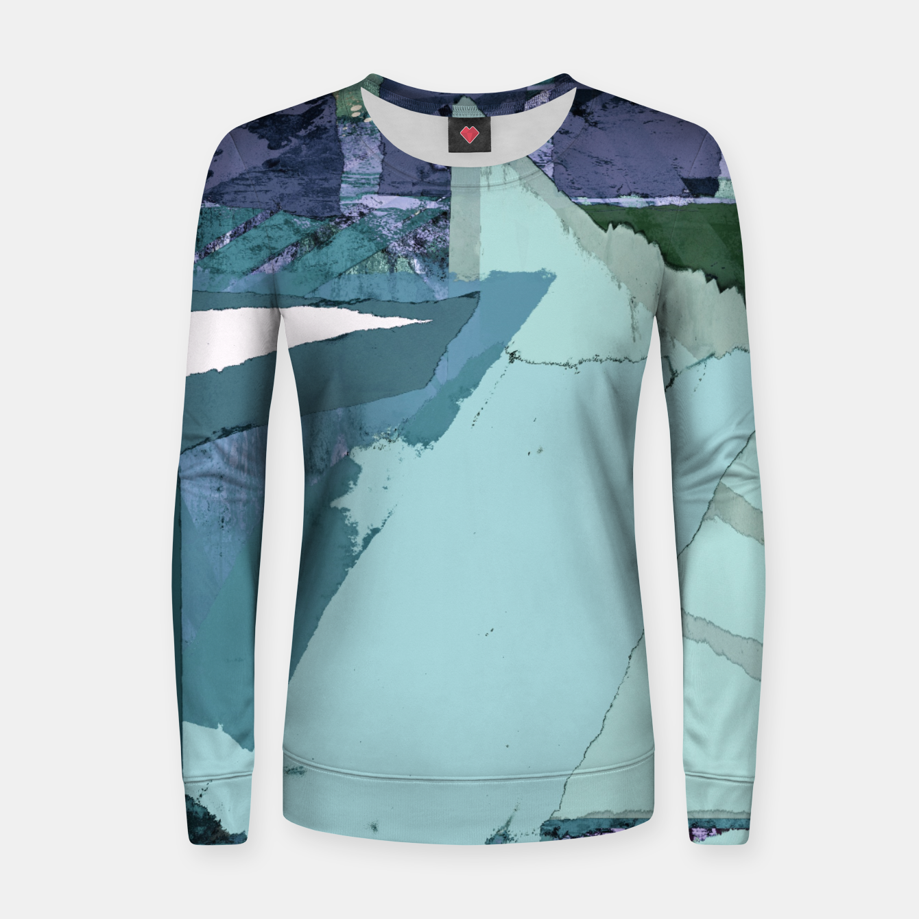 Image of Offset Women sweater - Live Heroes