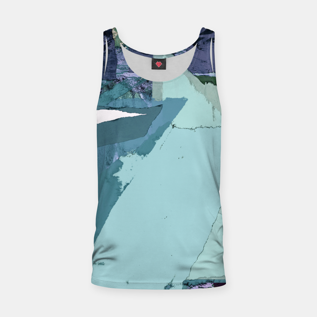 Image of Offset Tank Top - Live Heroes