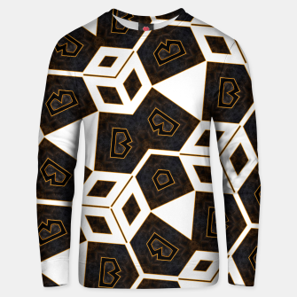 Thumbnail image of ITGRLBLK225346RM15 Abstract Geometric Pattern Unisex sweater, Live Heroes