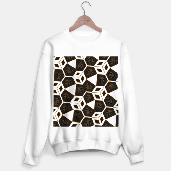 Thumbnail image of ITGRLBLK225346RM15 Abstract Geometric Pattern Sweater regular, Live Heroes