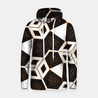 Thumbnail image of ITGRLBLK225346RM15 Abstract Geometric Pattern Hoodie, Live Heroes