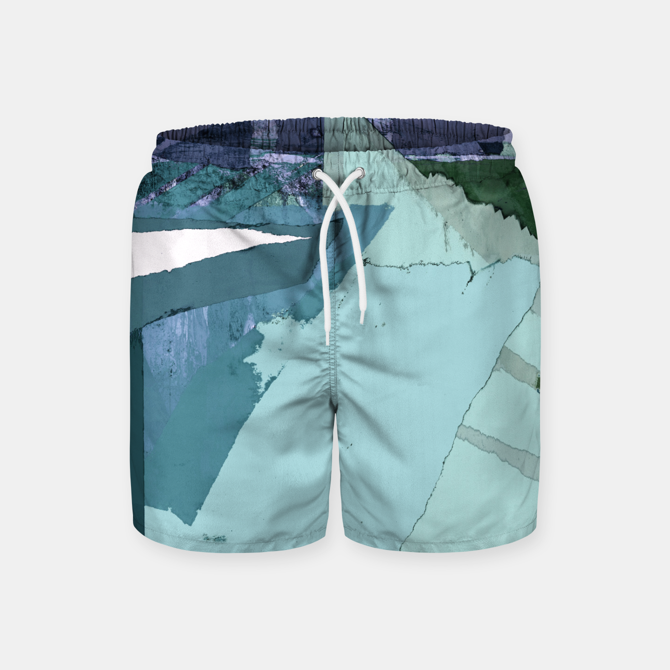 Image of Offset Swim Shorts - Live Heroes