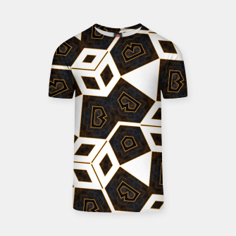 Thumbnail image of ITGRLBLK225346RM15 Abstract Geometric Pattern T-shirt, Live Heroes