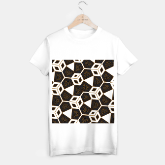 Thumbnail image of ITGRLBLK225346RM15 Abstract Geometric Pattern T-shirt regular, Live Heroes