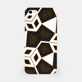Thumbnail image of ITGRLBLK225346RM15 Abstract Geometric Pattern iPhone Case, Live Heroes