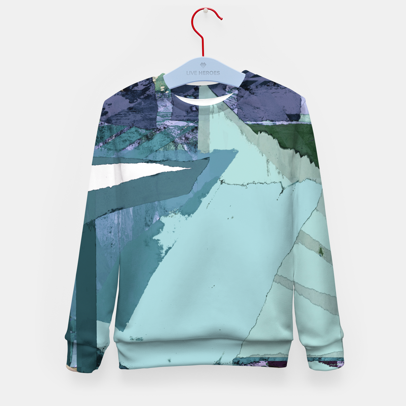 Image of Offset Kid's sweater - Live Heroes