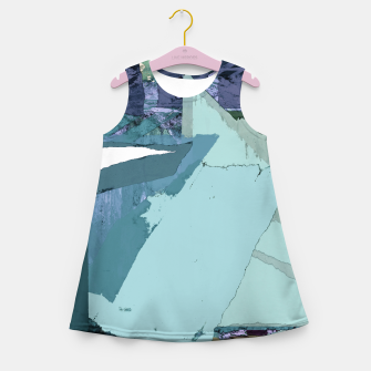 Miniaturka Offset Girl's summer dress, Live Heroes