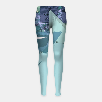 Thumbnail image of Offset Girl's leggings, Live Heroes