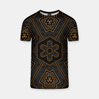 Thumbnail image of ITGRLBLKSRND1130225742 Abstract Pattern T-shirt, Live Heroes