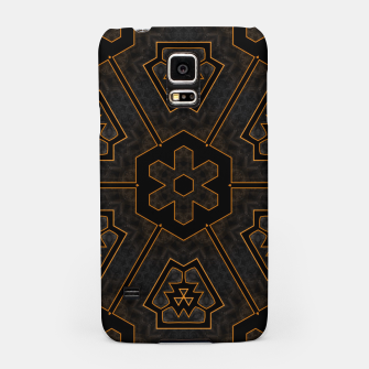 Miniaturka ITGRLBLKSRND1130225742 Abstract Pattern Samsung Case, Live Heroes
