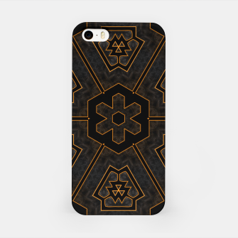 Thumbnail image of ITGRLBLKSRND1130225742 Abstract Pattern iPhone Case, Live Heroes