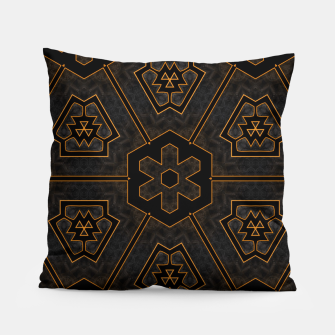 Thumbnail image of ITGRLBLKSRND1130225742 Abstract Pattern Pillow, Live Heroes