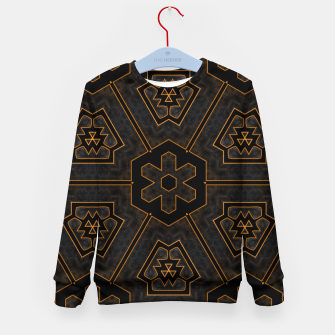 Thumbnail image of ITGRLBLKSRND1130225742 Abstract Pattern Kid's sweater, Live Heroes