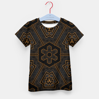 Thumbnail image of ITGRLBLKSRND1130225742 Abstract Pattern Kid's t-shirt, Live Heroes