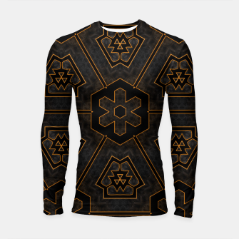 Thumbnail image of ITGRLBLKSRND1130225742 Abstract Pattern Longsleeve rashguard , Live Heroes