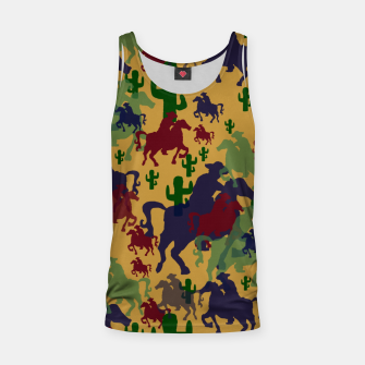 Thumbnail image of Cowboys Pattern Tank Top, Live Heroes