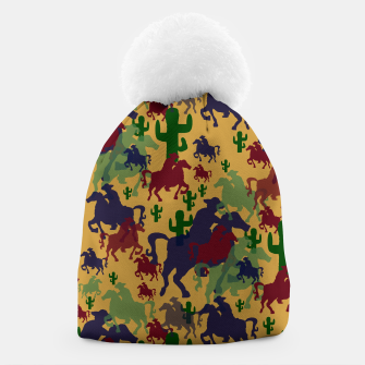 Thumbnail image of Cowboys Pattern Beanie, Live Heroes