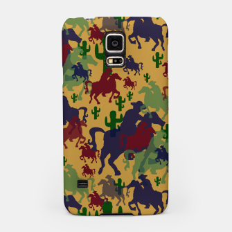 Thumbnail image of Cowboys Pattern Samsung Case, Live Heroes