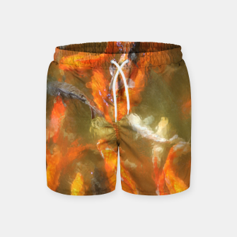 Thumbnail image of Fishes Swim Shorts, Live Heroes