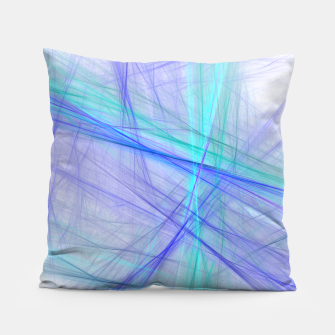 Miniatur Abstract Fractal Art Pillow, Live Heroes