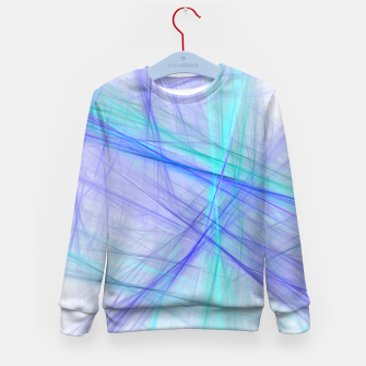 Miniatur Abstract Fractal Art Kid's sweater, Live Heroes