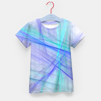 Miniatur Abstract Fractal Art Kid's t-shirt, Live Heroes