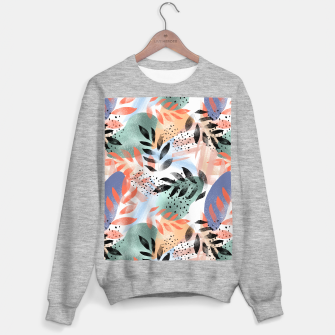 Thumbnail image of Abstract Tropical Sweater regular, Live Heroes