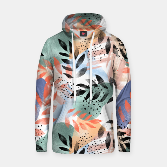 Thumbnail image of Abstract Tropical Hoodie, Live Heroes