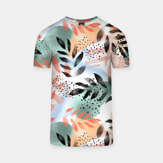 Thumbnail image of Abstract Tropical T-shirt, Live Heroes