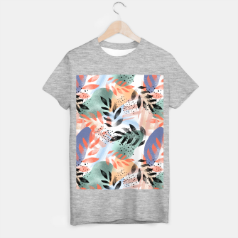 Thumbnail image of Abstract Tropical T-shirt regular, Live Heroes