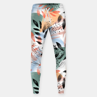 Miniatur Abstract Tropical Sweatpants, Live Heroes