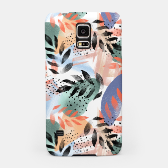 Miniatur Abstract Tropical Samsung Case, Live Heroes