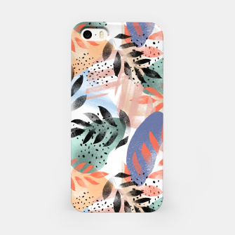 Thumbnail image of Abstract Tropical iPhone Case, Live Heroes