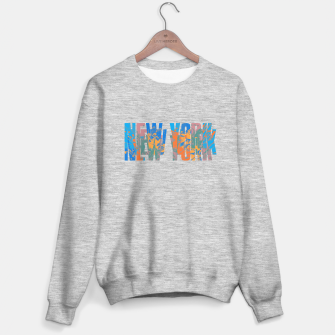 new york Sweater regular obraz miniatury