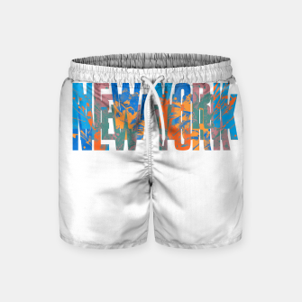 new york Swim Shorts obraz miniatury