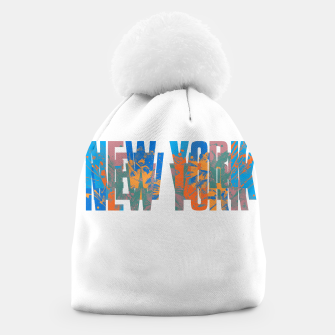 Thumbnail image of new york Beanie, Live Heroes