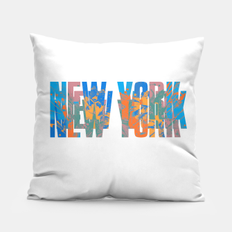 new york Pillow obraz miniatury