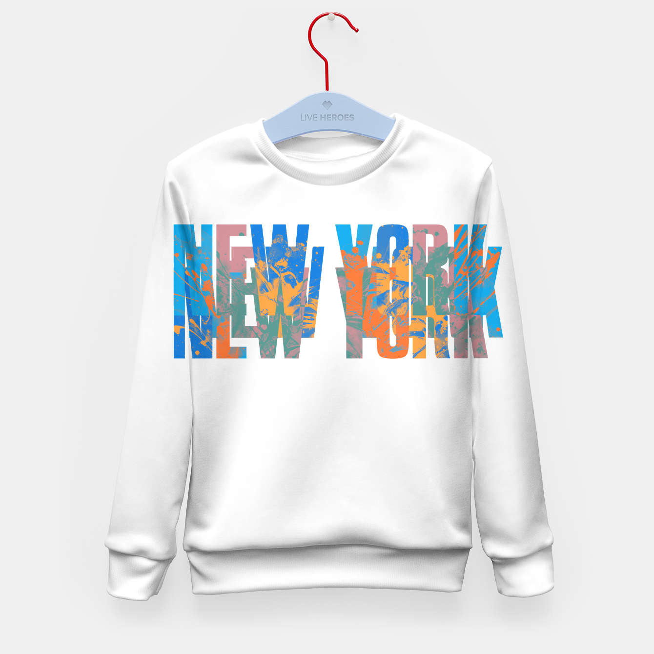Zdjęcie new york Kid's sweater - Live Heroes