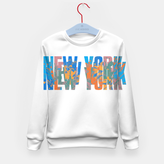 new york Kid's sweater obraz miniatury