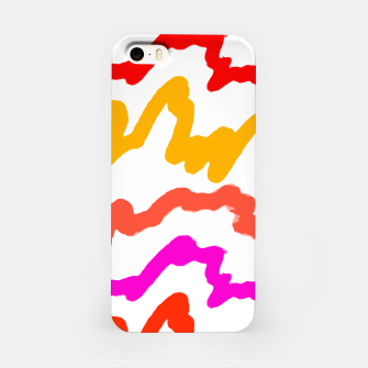 Miniaturka Multicolored Scribble Abstract Pattern iPhone Case, Live Heroes