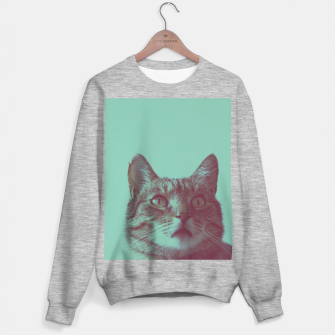 Miniatur Staring cat Sweater regular, Live Heroes