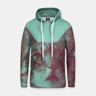 Thumbnail image of Staring cat Hoodie, Live Heroes