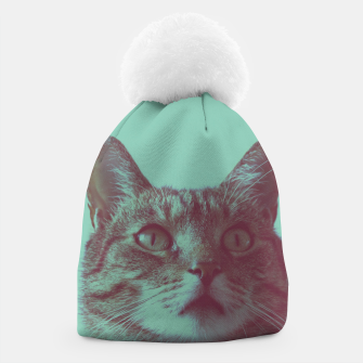 Thumbnail image of Staring cat Beanie, Live Heroes