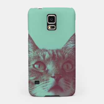 Thumbnail image of Staring cat Samsung Case, Live Heroes