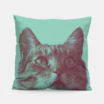 Miniatur Staring cat Pillow, Live Heroes