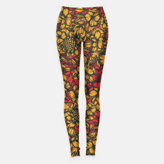 Thumbnail image of Floral Eye Leggings, Live Heroes