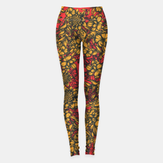 Thumbnail image of Just Flowers Leggings, Live Heroes