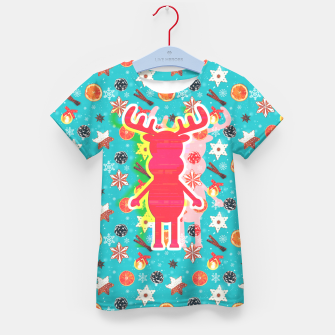 Miniaturka Rudy's Wonderland, the happy contour one Kid's t-shirt, Live Heroes