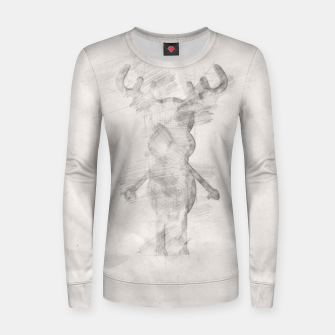 Thumbnail image of Rudy's Wonderland, the pencil contour one Women sweater, Live Heroes