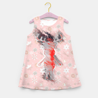 Thumbnail image of Rudy's Wonderland, the soft pink contour one Girl's summer dress, Live Heroes